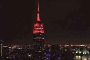 El homenaje de Nueva York desde el Empire State a los trabajadores médicos