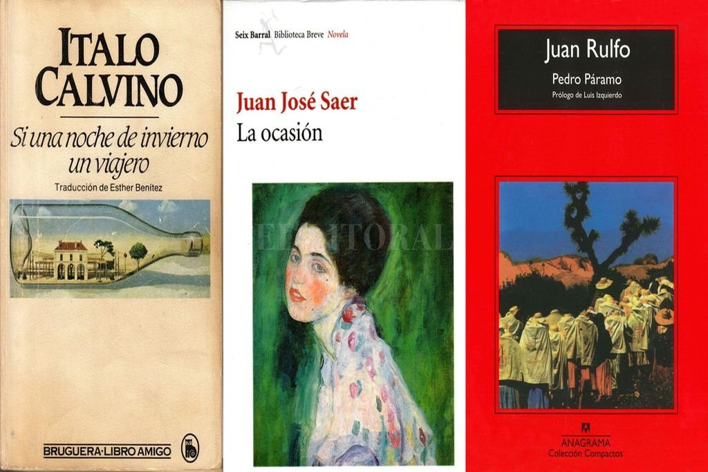 Algunos de los libros recomendados por los escritores y las entidades que los nuclean en Santa Fe.  Crédito: Archivo El Litoral