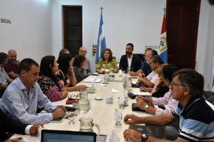 El gobierno promete retomar las paritarias después de la pandemia - Registro de la reunión realizada a principios de marzo. -