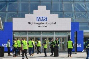 Coronavirus: Inauguran un megahospital en tiempo récord en Londres