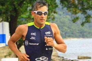 El triatleta Oscar Galindez pidió a los deportistas que eviten lesionarse en sus casas