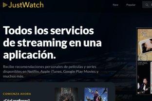 Llega a Argentina JustWatch, la reconocida plataforma de streaming para ver series y películas