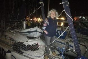 Una mujer de 75 años arribó al país tras navegar una década a vela por el mundo