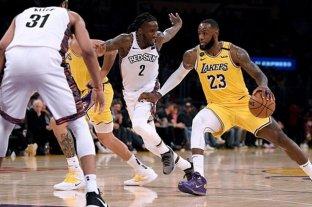 Los Lakers anunciaron la recuperación de sus jugadores contagiados de coronavirus