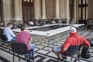 Se realizó una reunión entre el intendente y organizaciones sociales por la situación de coronavirus -  -