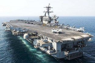 Estados Unidos: cien enfermos de coronavirus a bordo de un portaaviones militar
