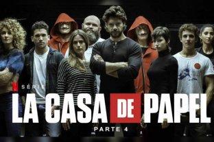 Se estrena la cuarta parte de La Casa de Papel a Netflix