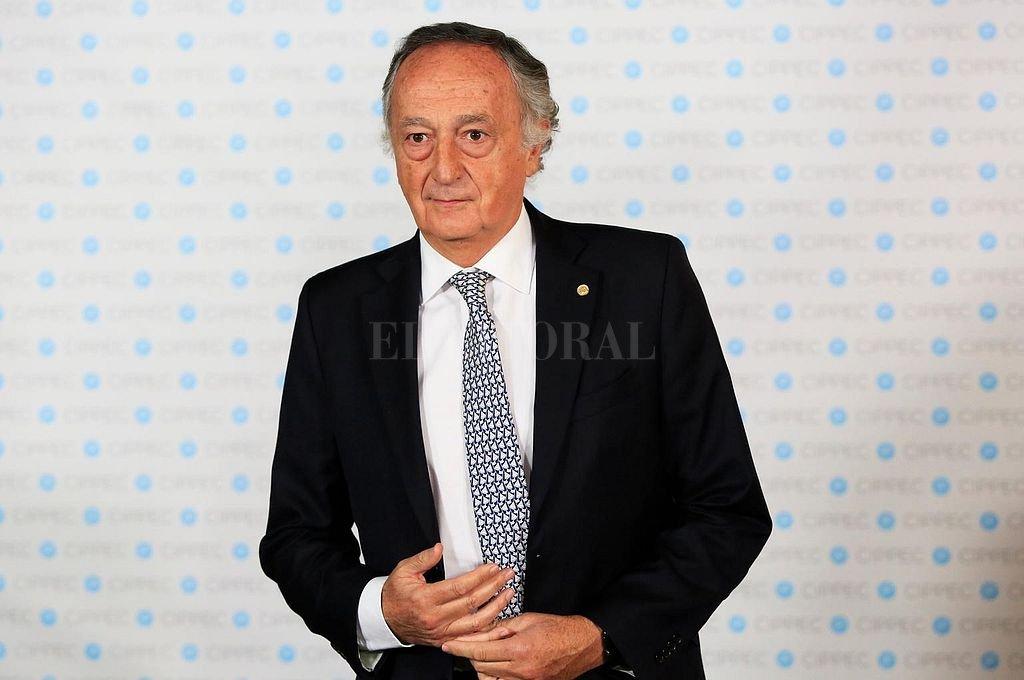 Miguel Acevedo, presidente de la UIA. Crédito: Archivo El Litoral