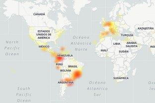 Facebook, Instagram y WhatsApp estuvieron caídas en varias regiones del planeta