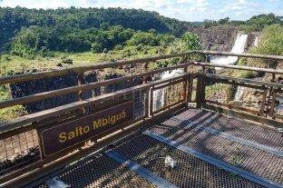 Cataratas del Iguazú: sin agua y sin turistas por el coronavirus