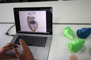 Chile desarrolló una máscara sanitaria 3D de cobre esterilizable
