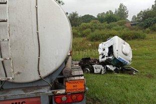 Un herido grave tras seguidilla de accidentes con camiones