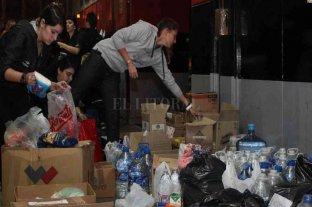 La Comuna de Carlos Pellegrini armó bolsones para repartir a vecinos