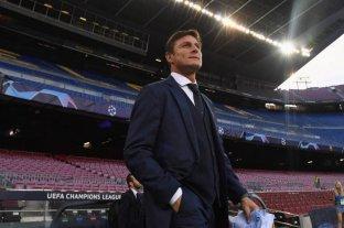 """""""La vuelta del fútbol va a ser muy complicada"""", admitió el """"Pupi"""" Zanetti"""