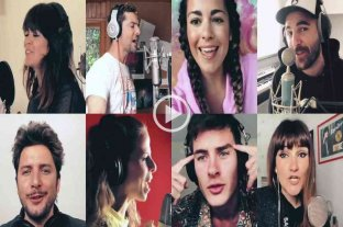 """""""Resistiré"""": las mejores voces de la música española se unen para frenar el coronavirus"""