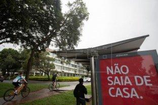 Brasil convocó a veterinarios y asistentes sociales como reserva en caso de sobrecarga del sistema de salud