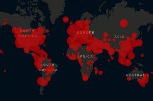 El mundo superó el millón de casos de coronavirus