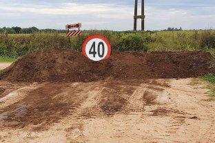 Matilde: comenzaron las tareas de restricción al tránsito