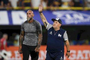 Maradona ofreció rever su contrato con Gimnasia debido al parate por el coronavirus