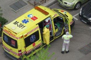 España superó la barrera de 900 muertos en 24 horas -  -