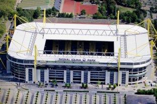 El estadio del Dortmund será un centro de atención sanitaria