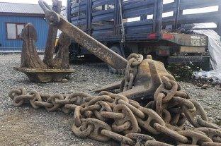 Se roban dos anclas de 1600 kilos de un barco varado en Tierra del Fuego y que eran patrimonio histórico