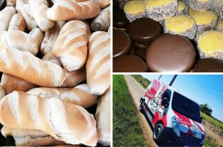 Tiempo de Delivery: panaderías y comercios, bien abastecidos