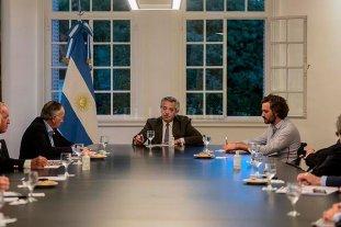 Alberto Fernández se reunió con representantes de la UIA