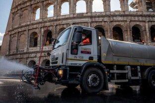 "Italia confima que ""el índice de contagios de coronavirus empezó a descender"" -  -"
