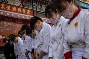 China se paralizó para homenajear a las víctimas del coronavirus