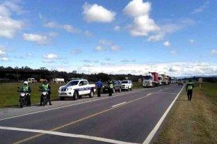 Salta: un hombre cortó la ruta en pleno aislamiento y terminó detenido