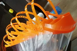 Escuela Técnica de San Carlos Centro fabrica mascarillas con impresoras 3D