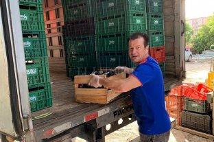 Dunga donó 10 toneladas de comida para los más necesitados