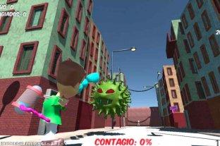 """Lanzan """"Corona Game"""", un videojuego para concientizar sobre la importancia del aislamiento"""