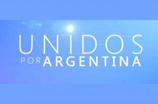 """En vivo: mirá el programa solidario """"Unidos por Argentina"""""""
