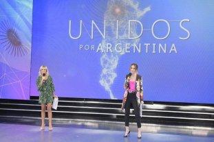 """El evento televisivo """"Unidos por Argentina"""" reunió cerca de 88 millones de pesos"""