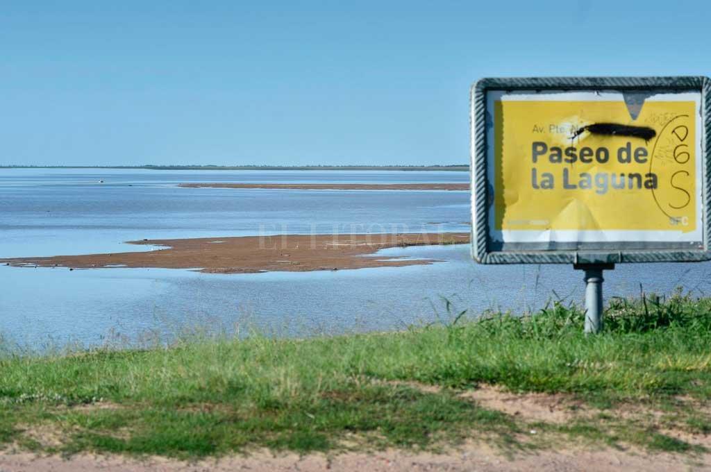 Histórica bajante del Río Paraná — San Nicolás