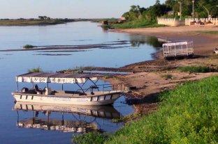 En Corrientes también es notoria la bajante del Río Paraná