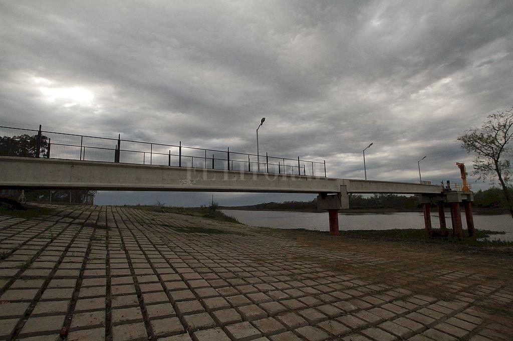 Toma. Está sobre el río Ubajay casi en su desembocadura sobre el Colastiné, sobre la defensa de Rincón. Crédito: Mauricio Garín