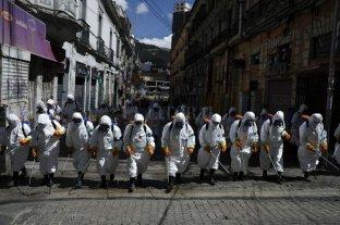 El gobierno de Bolivia analiza extender la cuarentena