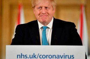 Aseguran que el premier británico recibe oxígeno pero no está con respirador -  -