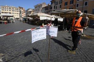 Italia piensa en una salida de la cuarentena en dos fases tras la baja en contagios