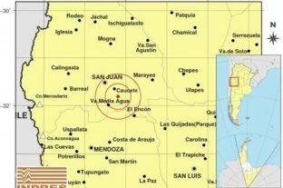 Un sismo se hizo sentir en parte de la región de Cuyo
