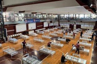 Lanús dispuso sus gimnasios para funcionar como hospitales de emergencia