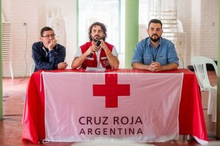 """""""Es el desafío más importante de la Cruz Roja Internacional en su historia"""" -  -"""