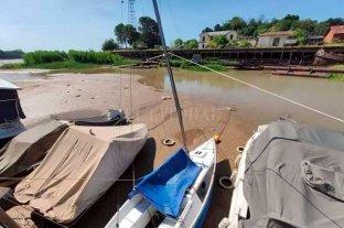 En la costa de Entre Ríos también es notoria la bajante del río Paraná
