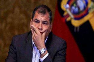 Rafael Correa fue sentenciado a 8 años de cárcel por corrupción