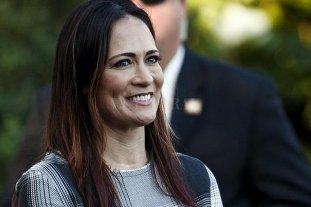 Renunció Stephanie Grishham, la vocera de Donald Trump en la Casa Blanca