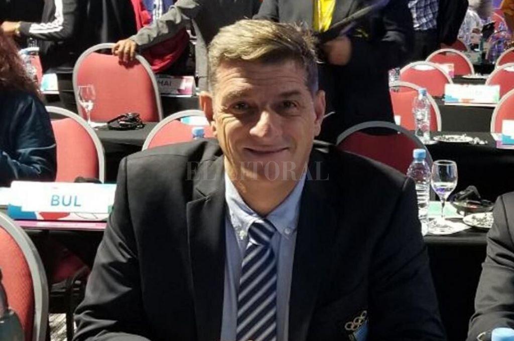 Luis Gusmán quedó fuera del Comité Olímpico Argentino.   Crédito: Archivo