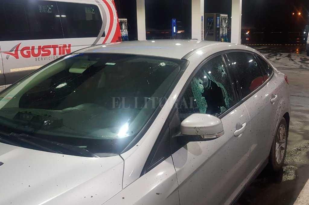 El exjefe de la Federal de Santa Fe, Mariano Valdés, fue baleado el 9 de septiembre de 2019, cuando viajaba por la autopista Buenos Aires-Rosario.  Crédito: Archivo El Litoral